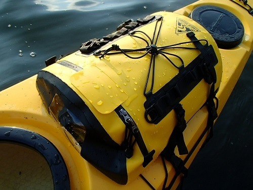 Kayak dry bag.