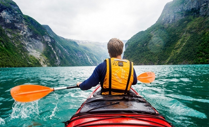 Kayaking: Explore, Paddle, Enjoy
